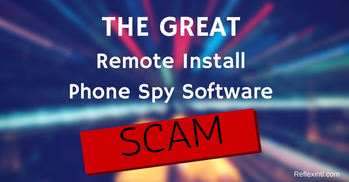 remote spy software scam